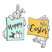 Buona Pasqua Bunny Banner.