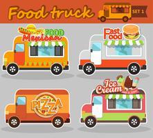 Camion di cibo vettore