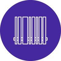 Icona della barra di codice vettoriale