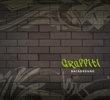 Sfondo vettoriale di graffiti