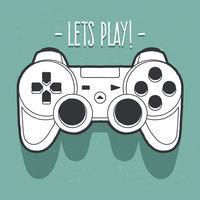 arte vettoriale di joystick
