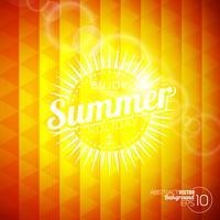 tema delle vacanze estive