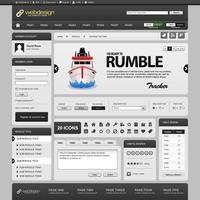 Modello di elemento di Web design.