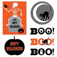 grafica di Halloween