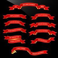 Banner Ribbon Scroll.