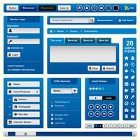Modello di elemento di Web design. vettore