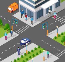 Città moderna 3D