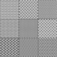 motivi geometrici grigio bianco nero vettore