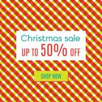 Natale in vendita speciale vettore