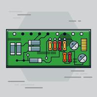 Vettore del circuito stampato
