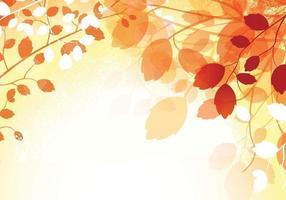 Vettore caldo della carta da parati di autunno
