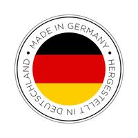 made in germany flag icon.