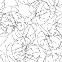 Modello disegnato a mano elegante senza soluzione di continuità. vettore