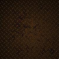 Illustrazione realistica corrosa del grafico di vettore afflitta arrugginita del piatto del diamante