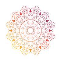 Flower Mandala Vintage elementi decorativi