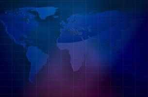 Illustrazione di sfondo mappa mondo