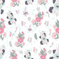 Seamless pattern di terracotta