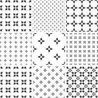 Set di modelli universali geometrici senza soluzione di continuità monocromatica, piastrellatura.