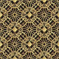 Vintage art deco di lusso in oro