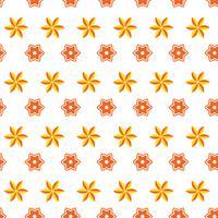 Arancio di lusso sfondo art deco. vettore