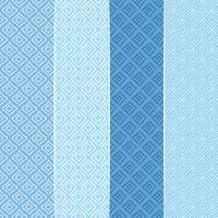 Vector blu modelli senza soluzione