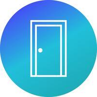 Icona di vettore della porta