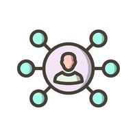 Icona di vettore di condivisione
