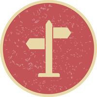 Icona di vettore delle direzioni