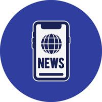 Icona di notizie vettoriali