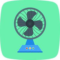 Icona di vettore del fan di carico