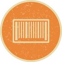 Icona del codice a barre vettoriale