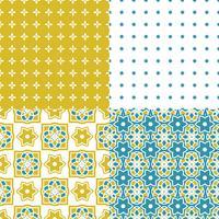 Piastrelle azulejo portoghesi. Modelli senza cuciture