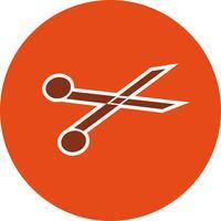 Icona di forbici vettoriale