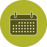 Icona del calendario vettoriale