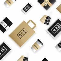 Set modello di corporate identity design