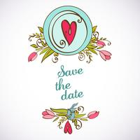 Invito a nozze salva le carte data
