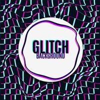 glitch background.