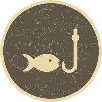 Icona di vettore di pesca