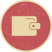 Icona del portafoglio vettoriale