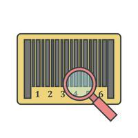 Vector Trova l'icona del prodotto