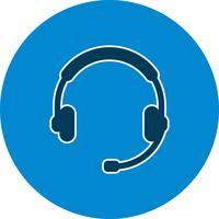 Icona del servizio clienti vettoriale