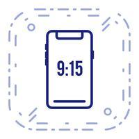 Icona del dispositivo Smart vettoriale