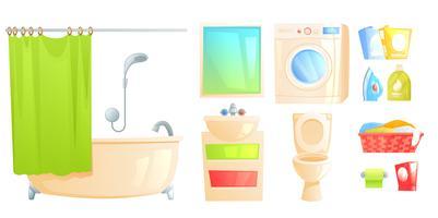 Servizi igienici e bagno isolati e altri soggetti vettore
