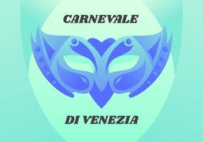 Fantastici vettori del Carnevale di Venezia