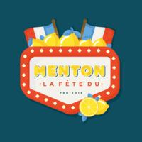 vettore del festival del limone di menton france