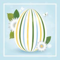 vector design cartolina d'auguri di Pasqua