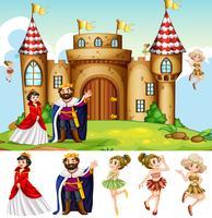 Re e regina al castello