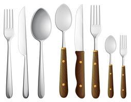 un set di cucchiaini