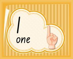 Guida al gesto numero uno della mano