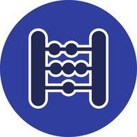 Icona di vettore ABACUS